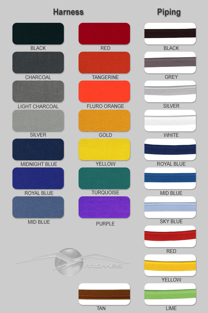 harness colours