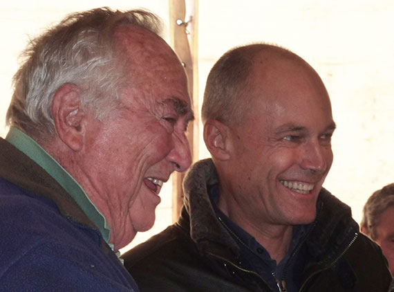 Bill and Bertrand Piccard St Hillaire 2015