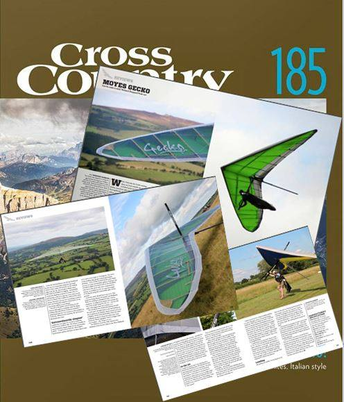 Gecko review in Cross Country magazine